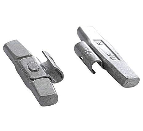 100 Stück 25g Schlaggewichte Stahlfelgen VERZINKT Auswuchtgewichte Wuchtgewichte