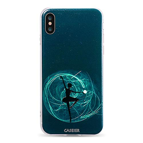 Elegant Ballet Phone Case for iPhone 5s SE Cases Soft Silicone Cover for iPhone 5 6 6s 7 8 Plus Sexy Funda Capinha,Midnight Ballet,for iPhone - Sailor Case Moon Ipod 5 Touch