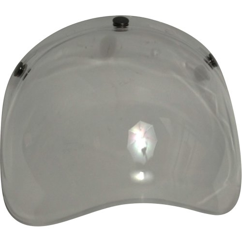 - Torc Bubble Shield Adult T-50 Cruiser Motorcycle Helmet Accessories - Dark Smoke / One Size