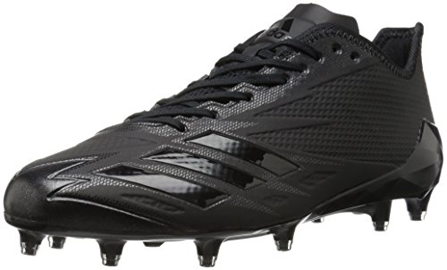 adidas Men's Freak X Carbon Mid Football Shoe, Black/Black/Black, 15 Medium US by adidas