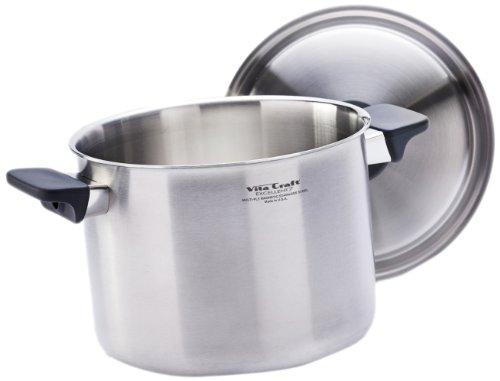 Vita Craft 6910.8004 6.0-Quart Pan and Cover Set