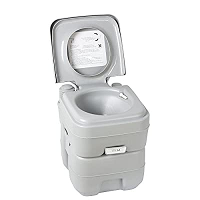 5 Gallon Portable Toilet Flush Travel Camping Outdoor/indoor Potty Commode 20l