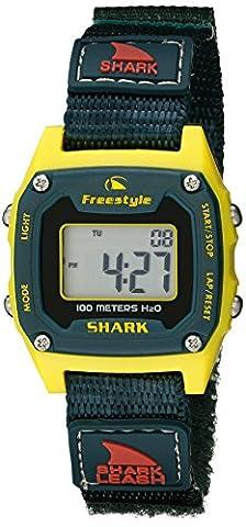 Freestyle Unisex 10022924 Shark Classic Mini Digital Display Japanese Quartz Black Watch (Freestyle Shark Green Watch)