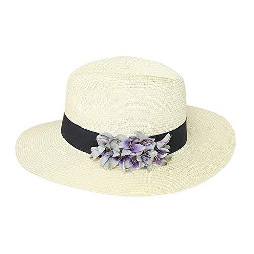 HYIRI Women's IBeading India Hat Summer Reflective Running Cap White