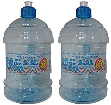(Arrow H2O on the GO 2.2 Liter Beverage Bottle - 2 Count)