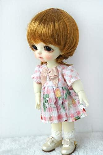 Muñecas de muñeca solo D28053 13 – 15 cm, peluca de mora sintética ...