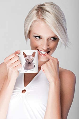 Grumpy Sphynx Cat Mug - Canadian Sphynx Cat Ceramic Coffee Mug - Perfect Sphynx Cat Gifts - Funny Sphynx Cat Coffee Mug for Cat Lovers (11oz) 20
