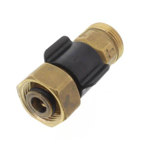 TruFLOW Brass R20 Visual Flow Meter 0.25 to 2.0 gpm