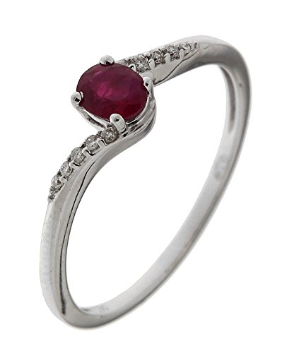 Bague Or 750 Rubis ref 42611