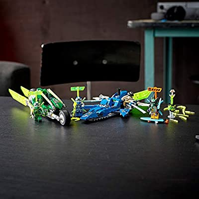 LEGO NINJAGO Jay and Lloyd's Velocity Racers 71709 Building Kit for Kids and Hot Toys, New 2020 (322 Pieces): Toys & Games