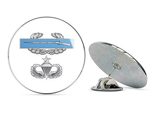 """Veteran Pins US Army CIB Senior Jump Wings Metal 0.75"""" Lapel Hat Pin Tie Tack Pinback"""