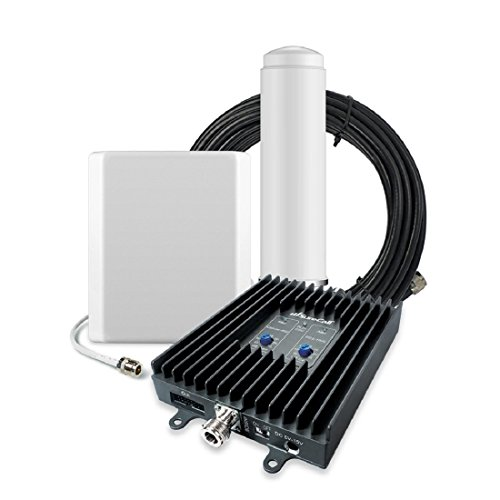 SureCall FlexPro Omni/Panel, Dual Band Cell Phone Signal Booster Kit for All Carriers up to 6,000 Sq Ft by SureCall