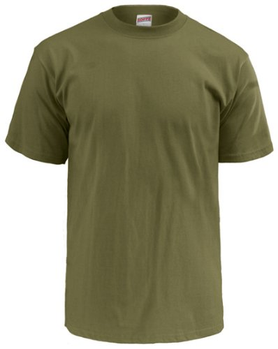 Soffe Men's Dri-Release Military T-Shirt , Olive Drab Green , Small (Dri Release T Shirt)