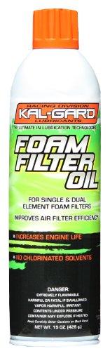 Kal-Gard 01315 Foam Filter Oil -