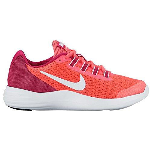 New Nike Girl's LunarConverge Athletic Shoe Pink/Fuchsia 6