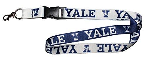 (WinCraft NCAA Yale University Bulldogs Premium Lanyard, 23 inches Long, 1 inch Wide)