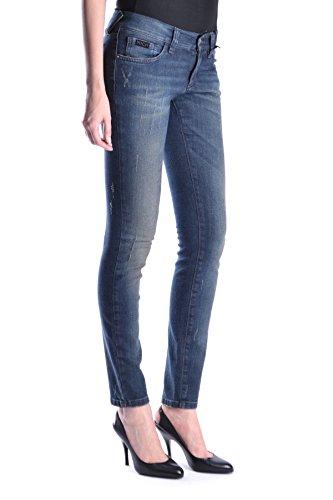 Coton RICHMOND MCBI256024O Bleu Femme Jeans qftrRfAn