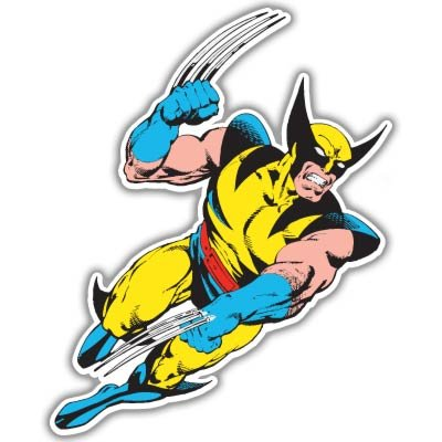 X men xmen wolverine vynil car sticker decal select size
