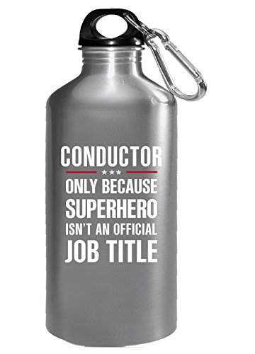 Gift For Superhero Conductor - Water (16 Bottle Super Conductor)
