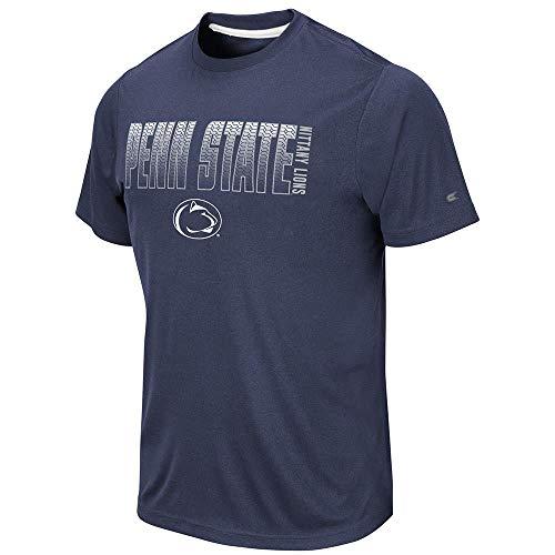 Colosseum Mens Penn State Nittany Lions Hamilton Short Sleeve Tee Shirt - L