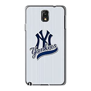 Protective Hard Phone Case For Samsung Galaxy Note 3 With Customized High Resolution New York Yankees Skin JohnPrimeauMaurice