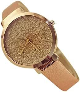 Women's watch, , gold-colored cream belt