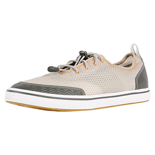Xtratuf Riptide Men's Airmesh Deck Shoes, Gray & Orange (...