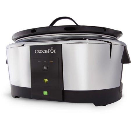 Crock-Pot® Programmable/Smart Slow Cooker (Stainless, SCCPWM600-V1)