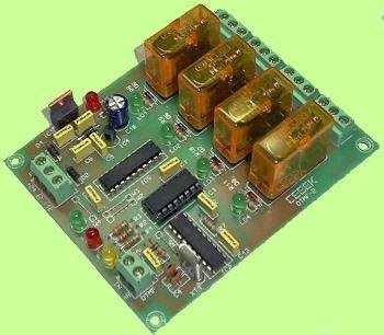 Dtmf Receiver 4-Relay Pre Assembled Module Board (Dtmf Receiver)