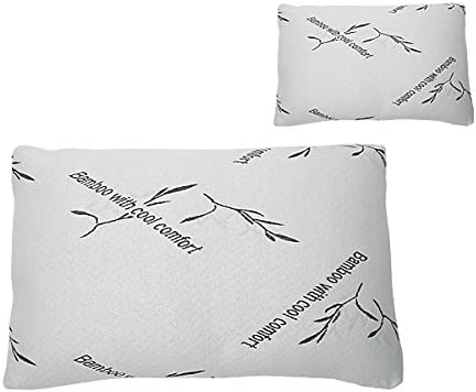 Bambillo Set of 2 Memory Foam Pillows