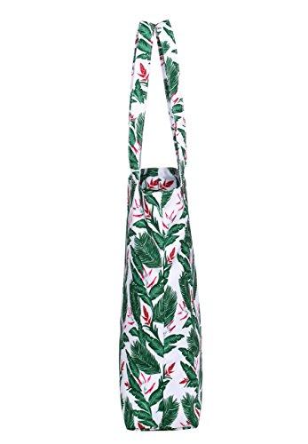 Del Moda Blanco De Bolso Floreale Base Spalla S020r Floral Basic Bianco Mano 41x32 Borsa Modo Hotstyle 5x11 Della Di 5 Cm Bandolera Tote xSwPYtHq