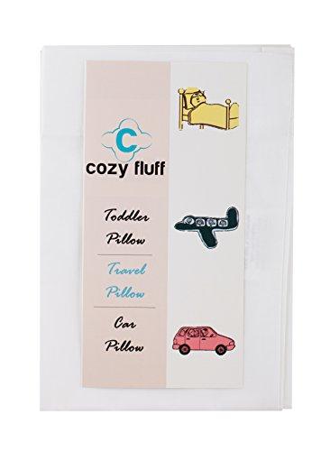 五星好评!Cozy Fluff 儿童专用枕头带枕套