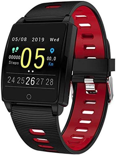 YXZQ Reloj Deportivo, Pulsera Inteligente AK18, visualización de Pantalla Grande Modo multideportivo Fitness Tracker ...