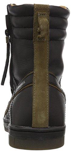 Diesel Mens Tatradium D-Valadium Fashion Boot Black/Olive Drab n93bAK