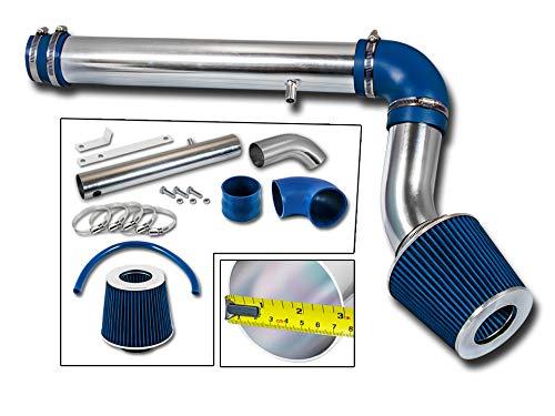 Rtunes Racing Cold Air Intake Kit + Filter Combo BLUE Compatible For 05-10 Chrysler 300 2.7L V6 / 05-09 Dodge Magnum/Charger 2.7L - V6 2.7l Air Intake