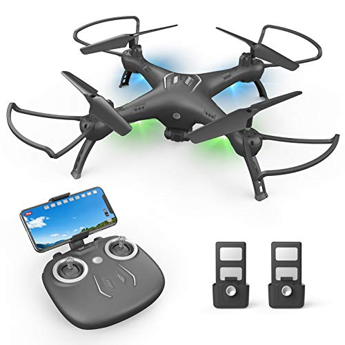 Drones with Camera for Adults 1080P HD FPV Live Video Wide-Angle WiFi RC Quadcopter with Toss to Launch, Gravity Sensor…