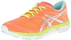 ASICS Women's 33-FA, Onyx/Hot Pink/Flash Yellow, 10.5 B - Medium