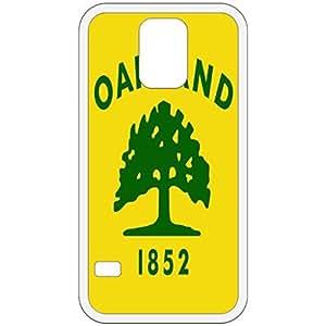 Oakland California CA City State Flag White Samsung Galaxy S5 Cell Phone Case - Cover wangjiang maoyi