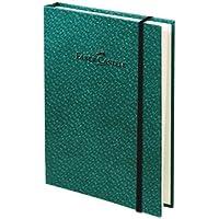 Faber-Castell 5075400810 Bambu Serisi A6 Ciltli Çizgisiz Koyu Yeşil Koyu Yeşil