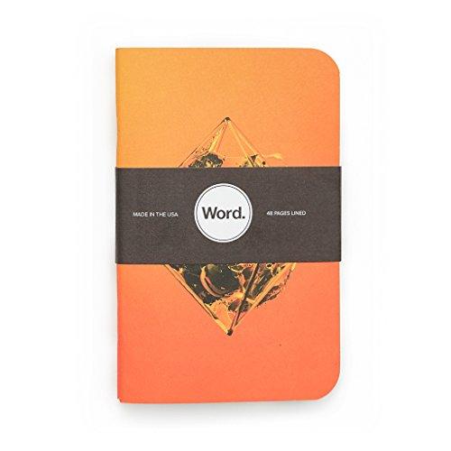 Word. Notebooks Artist - Justin Maller (3-pack) Photo #3