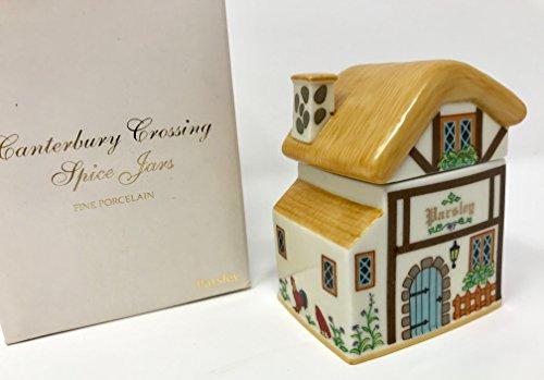 (Lenox 'Spice Village' Porcelain Victorian House Spice Jar - Parsley)