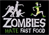 Zombies Hate Fast Food Magnet SM4081 by Hot Properties