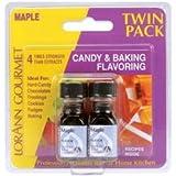 Bulk Buy: Lorann Oils Candy & Baking Flavoring Oil 0.125 Ounce Bottle 2/Pkg Maple FLAVOR-0270 (4-Pack)