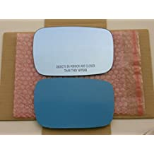 New Replacement BLUE Mirror Glass with FULL SIZE ADHESIVE for Acura TL ZDX Passenger Side View Right RH