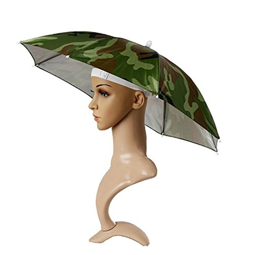 800eb96dcdbf4 AMA TM Foldable Umbrella Headwear