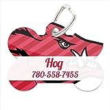 NCAA Arkansas Razorbacks Custom Pet ID Tag with