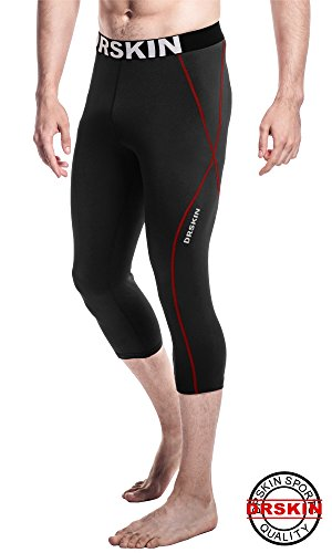 DRSKIN Tight 3/4 Compression Pants Base Layer