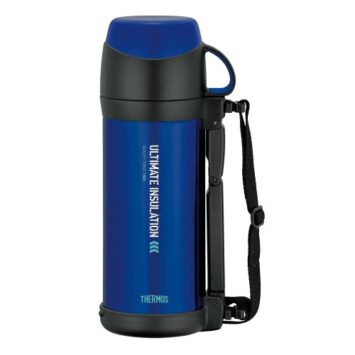 THERMOS (thermos) vacuum insulation stainless steel bottle Blue 1L FFW-1000 (BL) (japan import) by Thermos