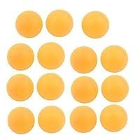 sourcingmap® 15 Stück Freizeit Freizeit Tisch Tennis Ping Pong Bälle Gelb