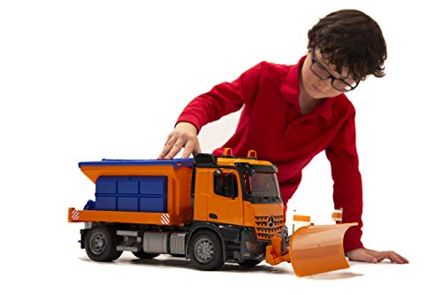 Bruder MB Arocs Snow Plow Truck - http://coolthings.us